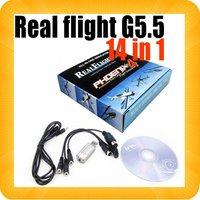 20pcs REAL FLIGHT G5.5 14 IN 1 SIM CARD CABLE RC SIMULATOR  PHOENIX 4.0 VRC2 FMS XTR Aerofly G6 G5.5 Adapter