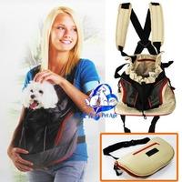 Single pet dog chest backpack dog backpack double-shoulder chest bag portable pet bag