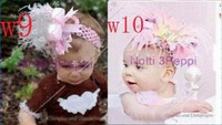 Hottest 40pcs+ gift  baby girls cute boutique headband with bows hairbows grosgrain ribbon bow top quality T