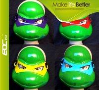 Teenage Mutant Ninja Turtles mask Super funny 4pcs