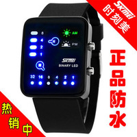 Fashion table boy electronic watch fashion student watch waterproof led lovers table