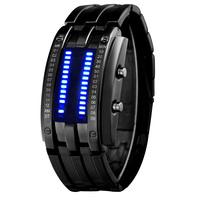 Watch male fashion table mens watch waterproof electronic watch led