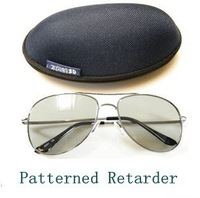 Free Shipping~~Quality 3D Eyewear Fashion Cool Circular polarized 3D TV glasses