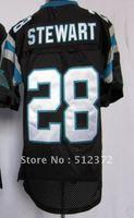 Free Shipping!!! 2012 new style jersey #28 Jonathan Stewart 2012 new black jersey