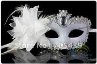 Free Shipping 20pcs Venice Lace Sexy Masquerade Party Half Face High-Grade Italian Mask.