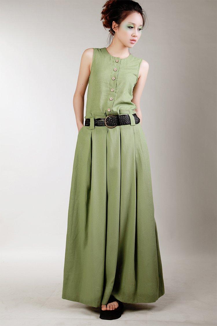 Linen Dresses Women