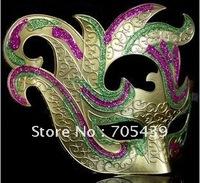 High grade painting Venice masks (5 colors selectable), Italian Venice Bauta mask wholesales, free shipping