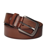 Western impression first layer of cowhide belt genuine leather male belt casual brief all-match strap pd7932