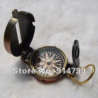 DC45-3G Lensatic Compass Directional Compass Precisely Made Handy Instrument Outdoor Camping Survival Tool (1PCS)