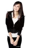 Free shipping,2012 new women casual hoodie,ladeis elegant autum/Spring hoodies,womens tops,(Thin),White,/ A1160