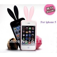 New TPU lovely rabbit case for iphone 5