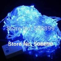2014 New 30M 300 LED Decorative String Fairy Light Blue Christmas 220V EU Plug Facyory price