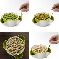2013 Dried fruit plate candy dish high quality 18.5*17*9cm free shipping