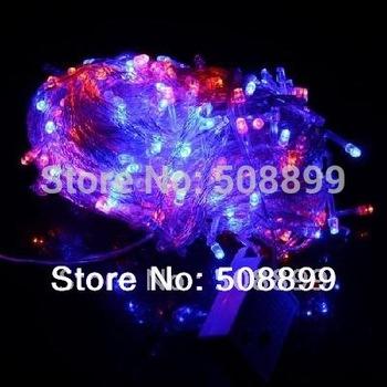 Free Shipping 30M 300 LED Decorative String Fairy Light Colorful Christmas 220V EU Plug
