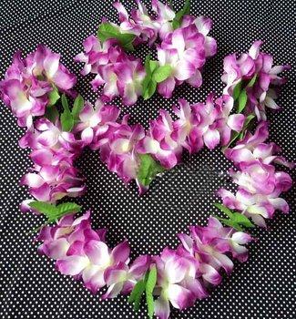 party supplies hawaiian flower lei garland/hawaii wreath cheerleading products hawaii necklace HH0060
