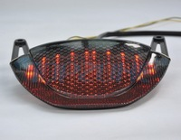 SMOKED Integrated Turn signal LED Motorcycle Tail Light  For HONDA CBR 600RR  2009-2012