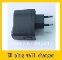 Free Shipping (via Post) 12pcs USB AC Power Supply Wall Adapter MP3 Charger EU Plug