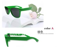 60PCS Best selling 14 Colors, 2012 Fashion Sunglasses Men Women Sun Glasses Brand Designer Sunglasses Sport