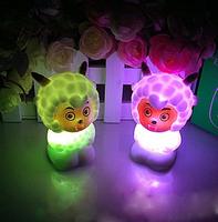 Jubilance nightlight colorful luminous nightlight hot-selling night market light-up toy