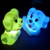 Pet dog small night light colorful small night light led night light-up toy