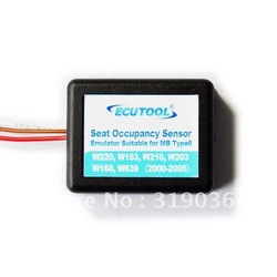 Seat Occupation Sensor Emulator for Mercedes Benz W220, W163, W210, W203, W168 HK Free Shipment with Simple Installation(China (Mainland))