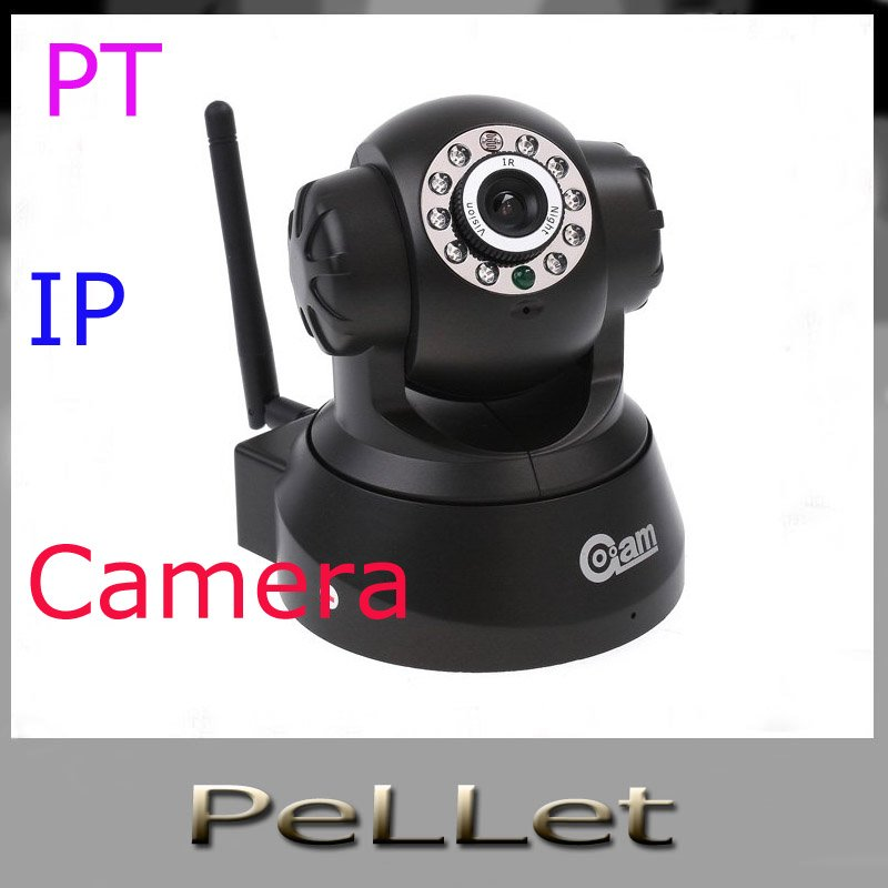Wireless WIFI IP Camera IR LED 2-Way Audio Nightvision CCTV camer(China (Mainland))