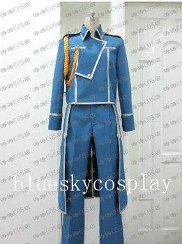 Fullmetal Alchemist Roy Mustang   Cosplay Costume    Custom  Any Size Halloween