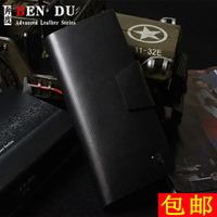 2012 diamond pattern cowhide male wallet male genuine leather long design wallet multi card holder