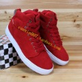 shoes Free shipping The trend of high  sports casual  suede hiphop hip-hop  lovers  skateboarding  shoes