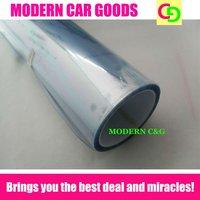 wholesale 0.3x10m 3 layers invisible transparent headlight tint film car vinyl car wrap practicable car stickers