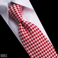 Hot sell, High Quality Men's 100% Silk Necktie Men Business woven silk tie