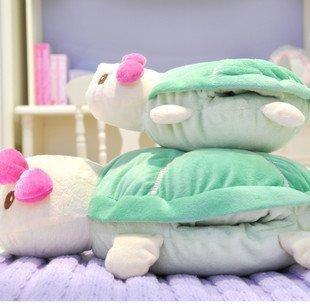 Hot Sale Free Shipping Cute Parent-children Tortoise Soft Winter Necessary Warm Hand Plush Toy-2pcs