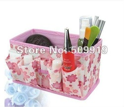 FREE SHIPPING HOT SALE Non-woven fabrics Storage Boxes home storage for cosmetics,jewelry (10pcs/set)mix color(China (Mainland))