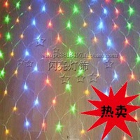 free shipping  Led  net lights lamp 1.5 meters 120 lamp garden lights holiday decoration lawn lamp