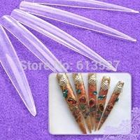 12 pcs Long Stiletto Sharp Nail art tips- Free Shipping