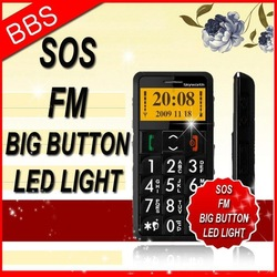 Old-people cellphone S302 big font big phone ZTE buttons(China (Mainland))