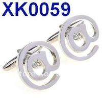 Free shipping!  Funny cufflinks . Hollow metal cuff links   , Fun cuff links    XK0059