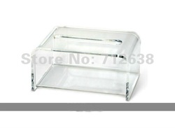 Free Shipping Manufacture Acrylic Tissue Holder, Acrylic Napkin Holder BX017 Outlet Online(China (Mainland))