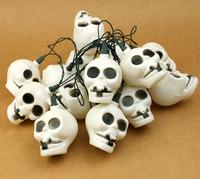 Bar decoration halloween pumpkin props - lantern string light hangings