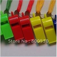 Large multicolour plastic whistle toy whistle ok whistle fans whistle