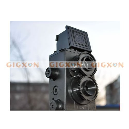 DIY LOMO Camera 35MM Film Recesky Twin Lens Reflex Camera(Hong Kong)