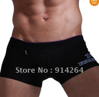 Sexy Mens Cotton PULGE POUCH BOXER BRIEF TRUNK SHORTS Underwear BOTTOM IN 4SIZE / free shipping