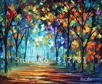 High quality! 100% Hand-painted art canvas Dreaming Park - Original Recreation Oil Painting On Canvas By Leonid Afremov