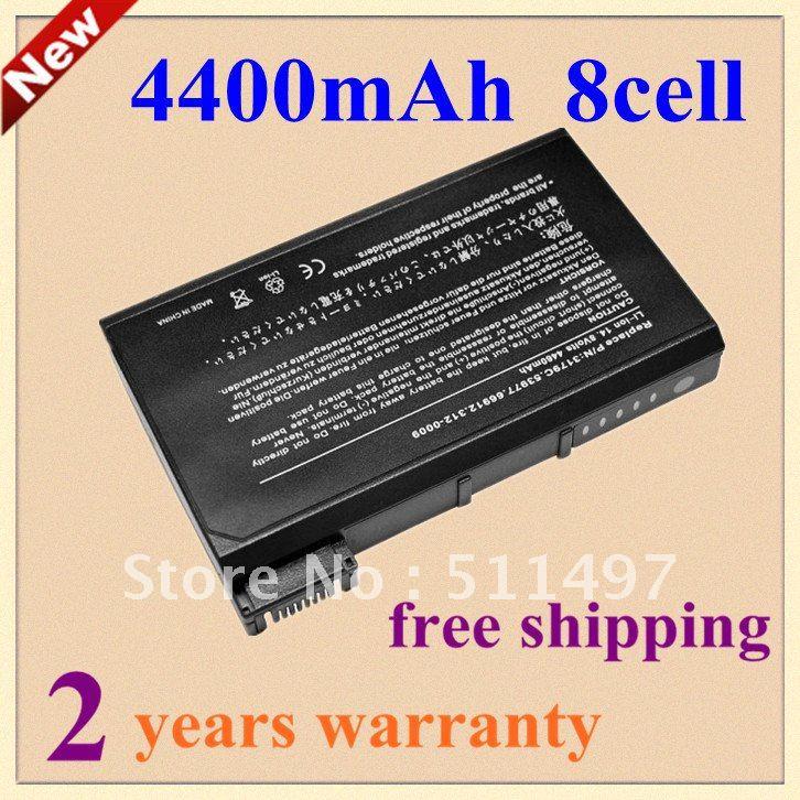 High quality 4400mAh Laptop Battery For dell Latitude C510 C540 C600 C610 C640,3179C 6H410 5H980 312-0026 1691P 8M815 66912(China (Mainland))