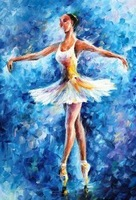 Dancing -  Oil Painting On Canavs