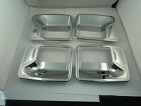Free shipping ,(DHFD103)NEW Outer Front Left Right Rear Door Handle Cover Fit For Ford Superduty 4Pcs
