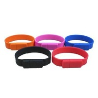 Bracelet USB flash drives USB flash memory 2GB 4GB 8GB 16GB free shipping