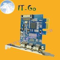 Free shipping---External 1394B PCIe card Firewire 800 IEEE1394B PCI EXPRESS