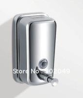 Bathroom Soap Dispenser Plastic Soap Dispenser Pump Mason Jar Liquid Soap Dispensers 304 Stainless Steel Free Shipping