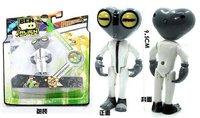 Free shipping 2014 ben 10 Grey Matter one piece figure,ben ten toys pvc anime figure,kid hot toys,Christmas gift/new year gift